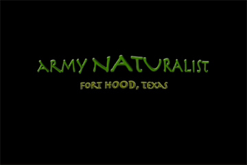 TERRA 417: Army Naturalist – Part 1
